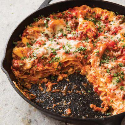 Cast Iron Skillet Lasagna America S Test Kitchen