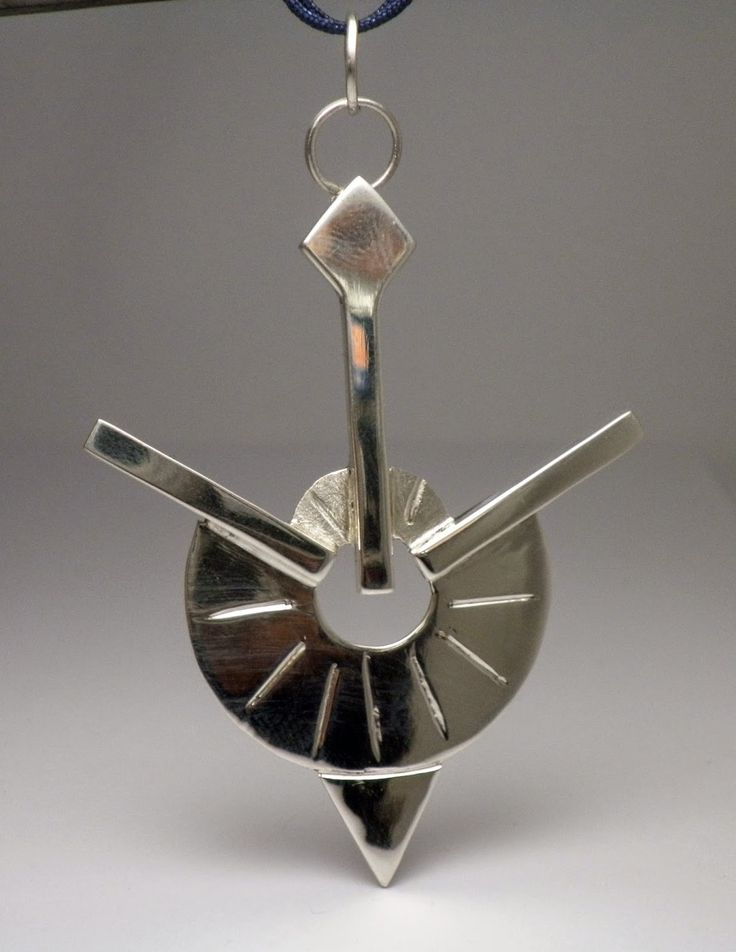 - the creative act - ''three-spoke'', sterling silver