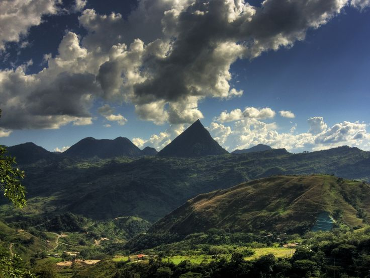 Colombian Mountains Tusa !  #Colombia Has Amazingly Gorgeous Mountians :D