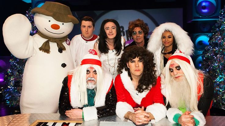 The Snowman appearing on Never Mind the Buzzcocks Christmas Special 2014 (Series 28: 12)