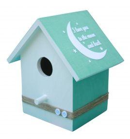 Babyshop@Home - Kidsware Mint Groen Vogelhuisje Kinderkamer Accessoires