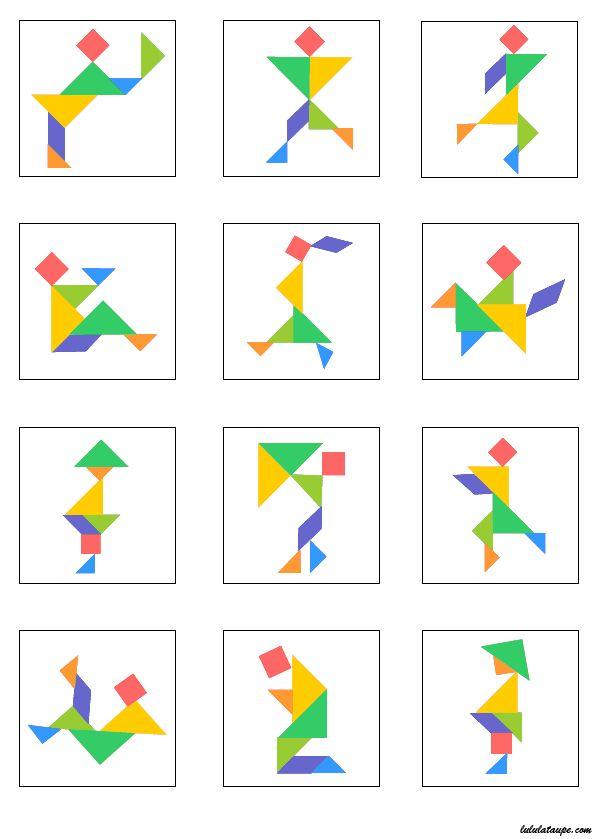 Exceptionnel Les 25 meilleures idées de la catégorie Modèle de pièce de puzzle  OB61