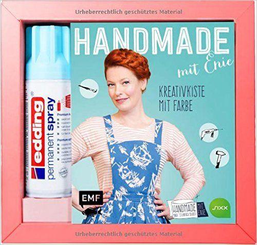 HANDMADE mit Enie - Kreativkiste mit Farbe: Amazon.de: Enie van de Meiklokjes: Bücher