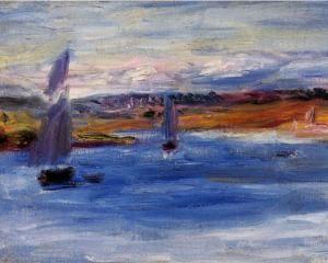 Sailboats - Pierre-Auguste Renoir