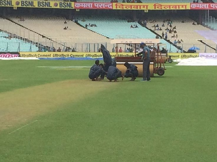 LIVE Score Cricket India vs Sri Lanka 1st Test Day 1 at Kolkata: Covers coming off