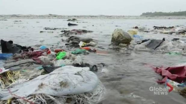 So much plastic: Divers video captures garbage-filled waters off Bali coast