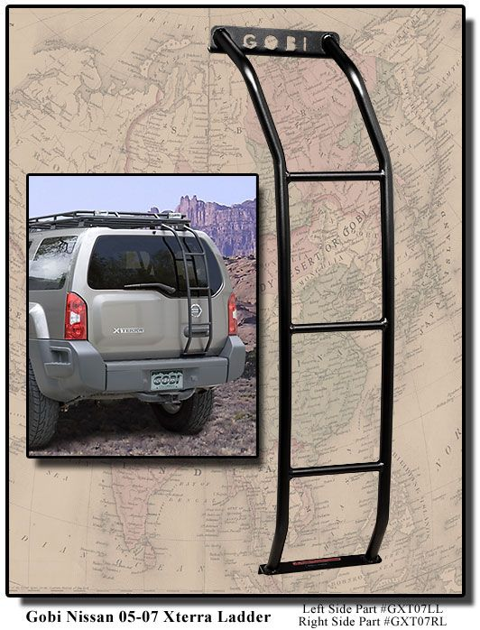 Have - Gobi Nissan Xterra Ladder - GNXL - Nissan Gobi Roof Racks