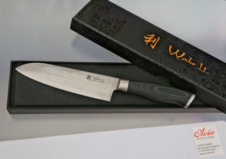 wakoli 1dm san mik santoku damascus knife japanese damascus steel vg 10 mikata handle. Black Bedroom Furniture Sets. Home Design Ideas