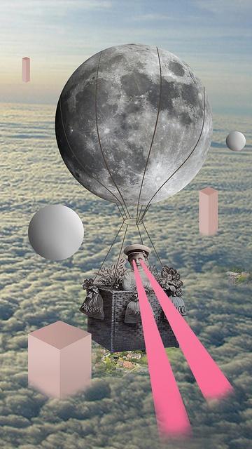 //Journey//To//Space// by Ashley Joseph Edwards Kitsch mais j'adore                                                                                                                                                      Mais