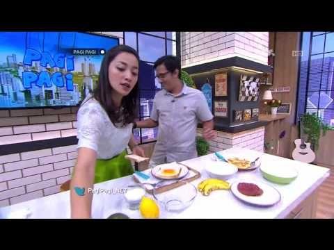 Pagi - Pagi - 4 Januari 2016 - Variasi Makanan Pan Cake Telur