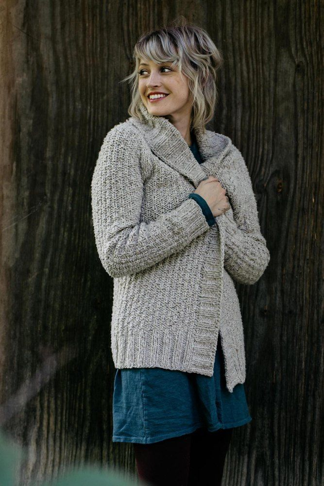 002b3f8e47060 Oxbow Cardigan Knitting pattern by Andrea Mowry