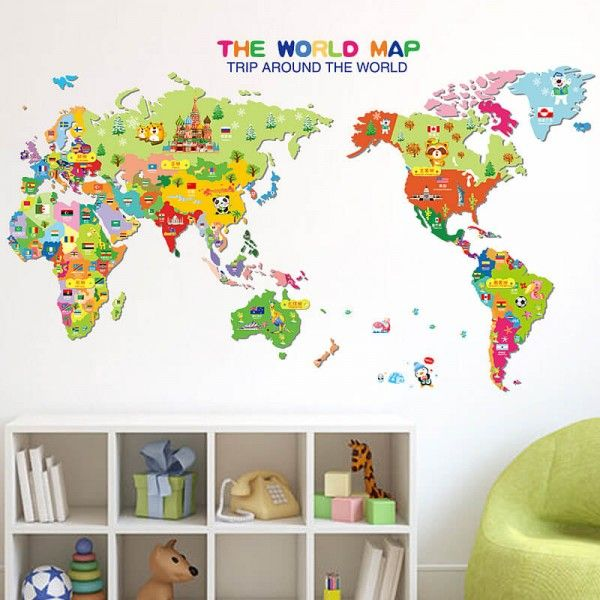80 best kids room wall decals images on pinterest you searched for kids world map wall stickers wall decals wall stickers for kids ireland gumiabroncs Images