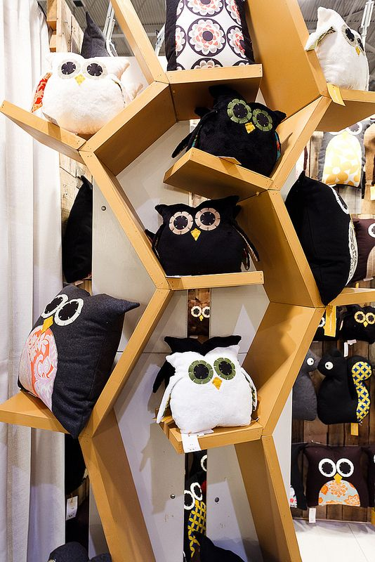 Owl Pillows - Visit the One of a Kind Spring Craft Show with Maple Leaf Tours