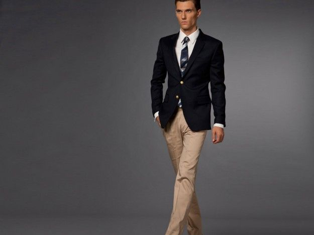 Shop navy blazer at Neiman Marcus, where you will find free shipping on the latest in fashion from top designers.