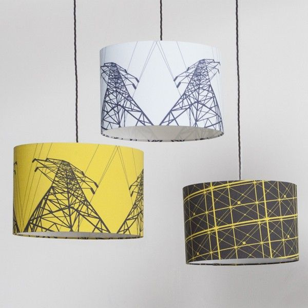 Pylon Shade in Cautious Yellow | Lamp Shade Collection ...