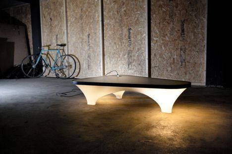 static plastic table