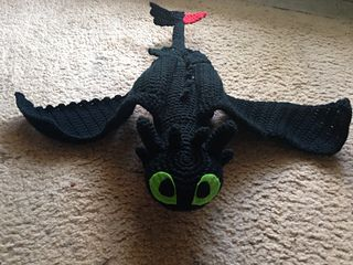 Knitting Pattern Toothless Dragon : 17 Best images about Crochet Toothless on Pinterest Hiccup, Hats and Ravelry