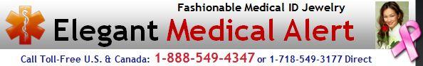 STAINLESS STEEL MEDICAL ID BANGLE BRACELET