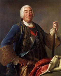 Pietro Antonio Rotari, King Augustus III of Poland, 1755, Gemäldegalerie, Dresden. The most lavish king in art history.