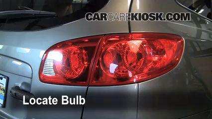 Reverse Light Replacement 2007-2012 Hyundai Santa Fe - 2009 Hyundai Santa Fe Limited 3.3L V6
