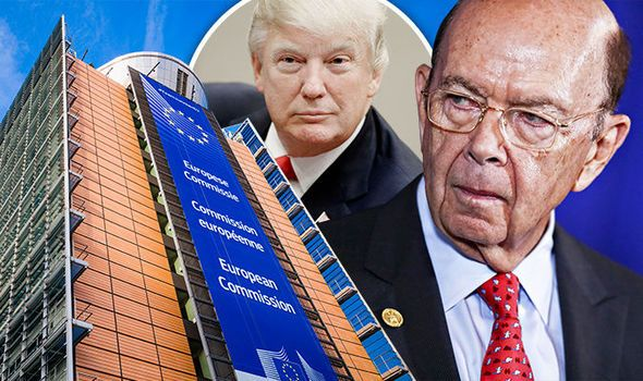 NO MORE TOLERANCE Donald Trumps trade tsar blasts rubbish EU policies