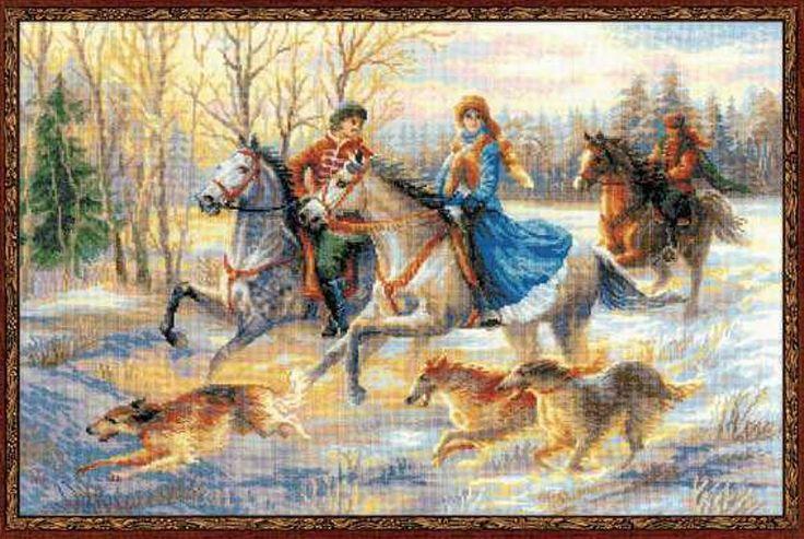 1639 Русская охота Риолис