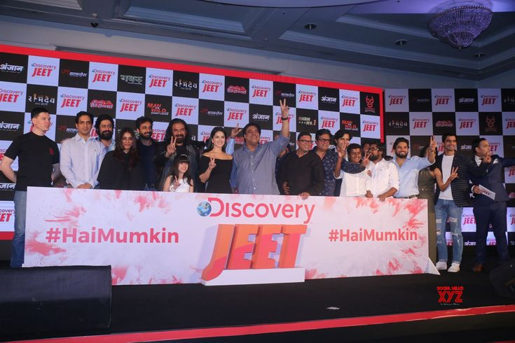 Mumbai: Launch of Discovery JEET  Sunny Leone, Ram Kapoor, Mohit Raina and Mukul Dev - Social News XYZ