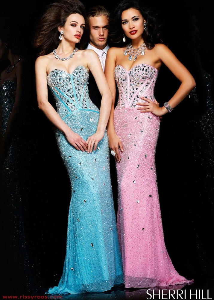 Z couture prom dresses tight