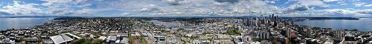Panoramic Seattle.