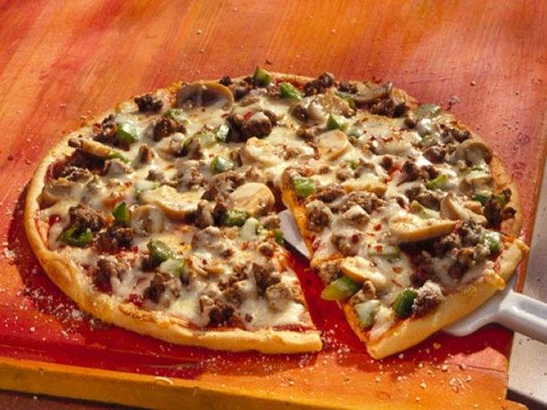 BBQ Chicken Pizza From Pillsbury Artisan Pizza Crust Recipe ...