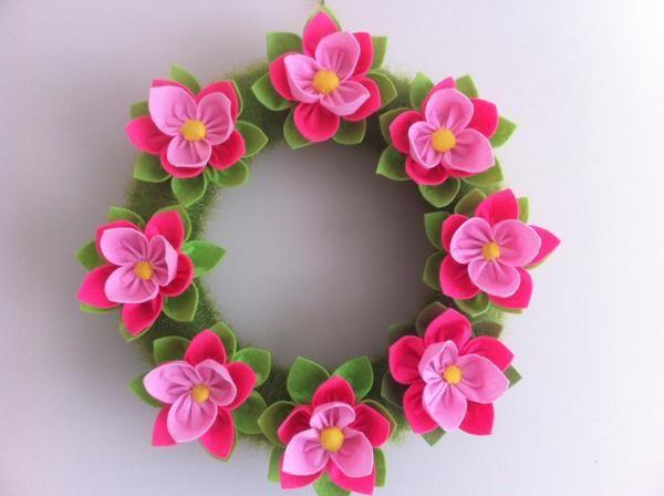 Çiçekli Kapı Süsü | Emeksensin | ApkA