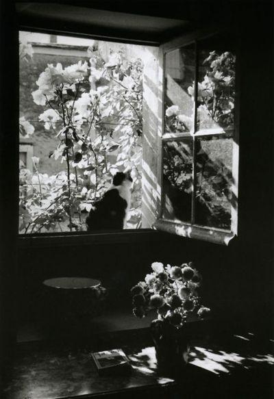 liquidnight: Édouard Boubat Stanislas at the window France, 1973 From Édouard Boubat: A Gentle Eye