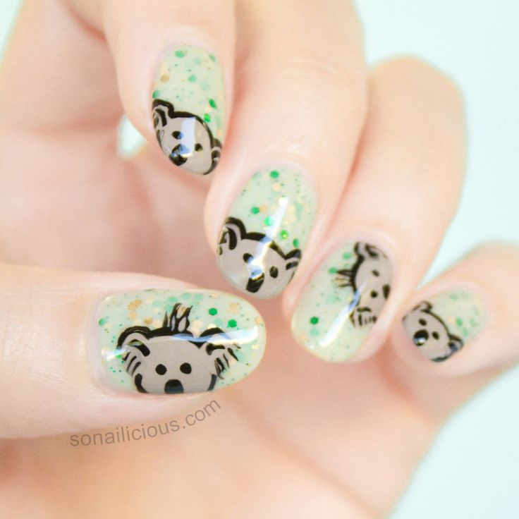 48 best australia images on pinterest australia nail australian themed nail art prinsesfo Gallery