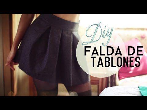 ▶ ¡Cómo hacer tu propia Falda de Tablones! (Pleated Skirt) - YouTube