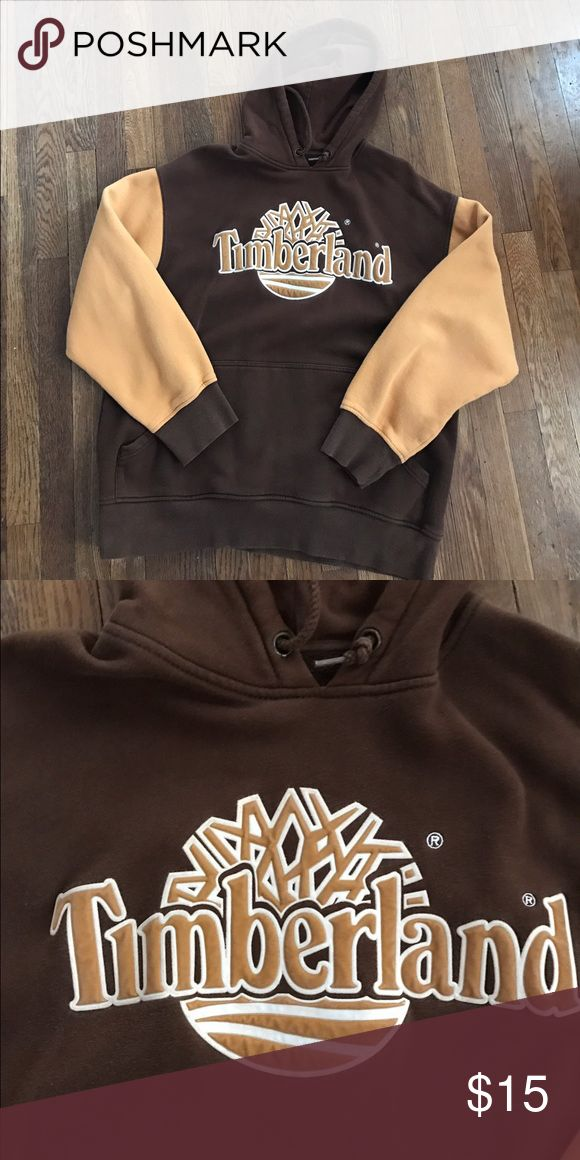 Timberland hoodie Heavy duty hooded sweatshirt! Great for cold spring days and nights! In great shape! Timberland Sweaters
