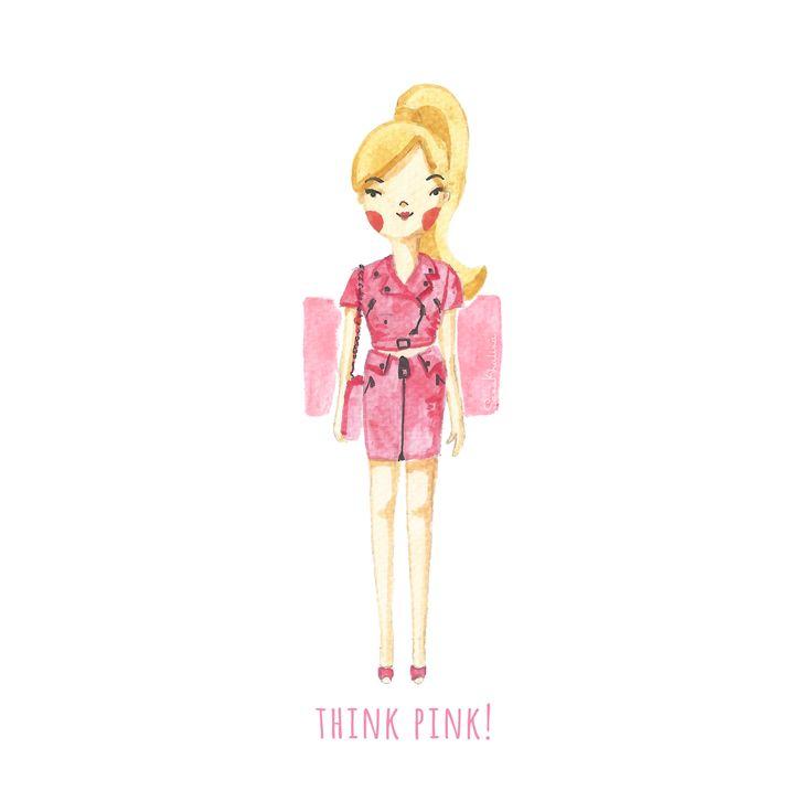 Think Pink! by Sasa Khalisa