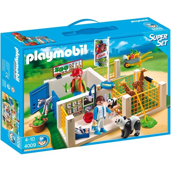 superb playmobil 4009 city life animal care station now at