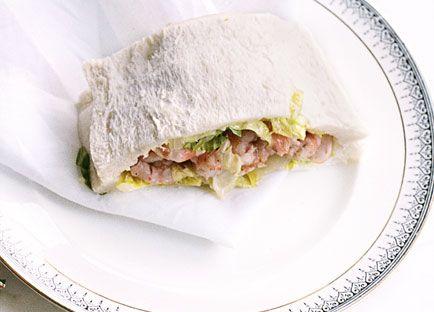 Prawn sandwiches, Harry's Bar style