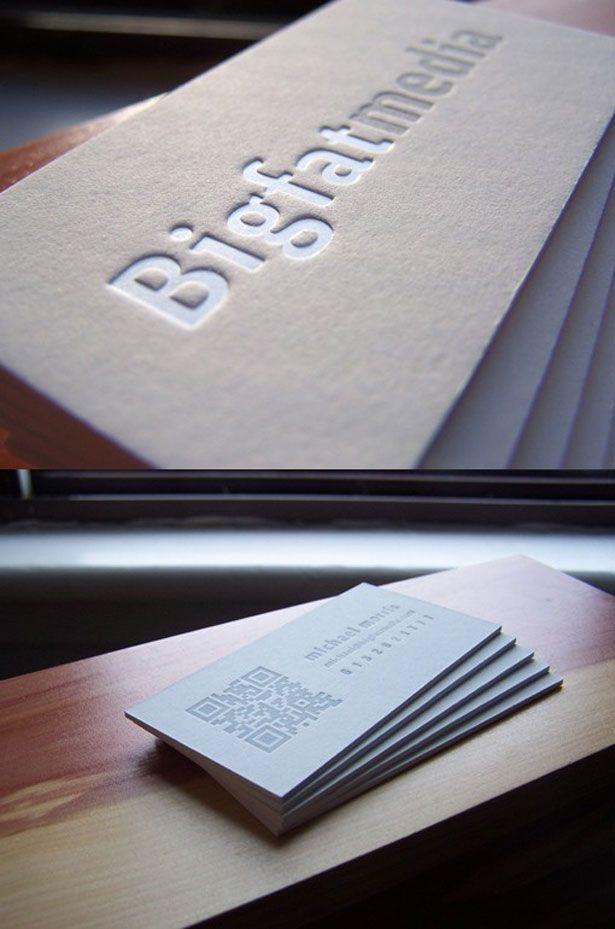30 Creative QR code business cards   Webdesigner Depot Branding