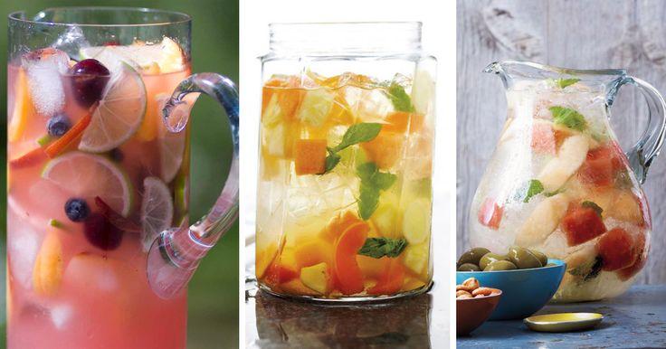 6 receptů na osvěžující ovocnou Sangrii
