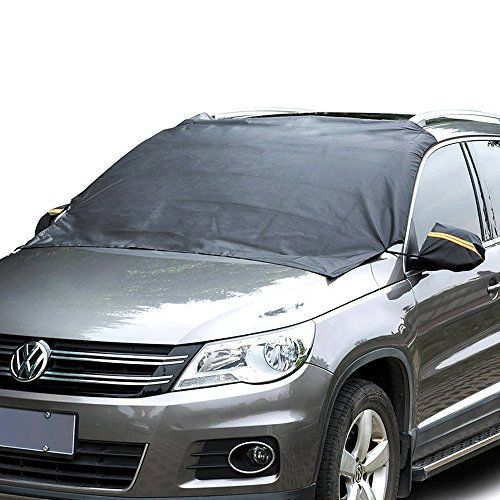 Couverture Pare-Brise Voiture – VIDEN Bache Pare Brise Avant avec Magnétique, Protection Auto Anti Givre / UV / Pluie / Givre / Glace &…