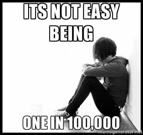 1 in 100,000. Pseudo Tumor Cerebri :(