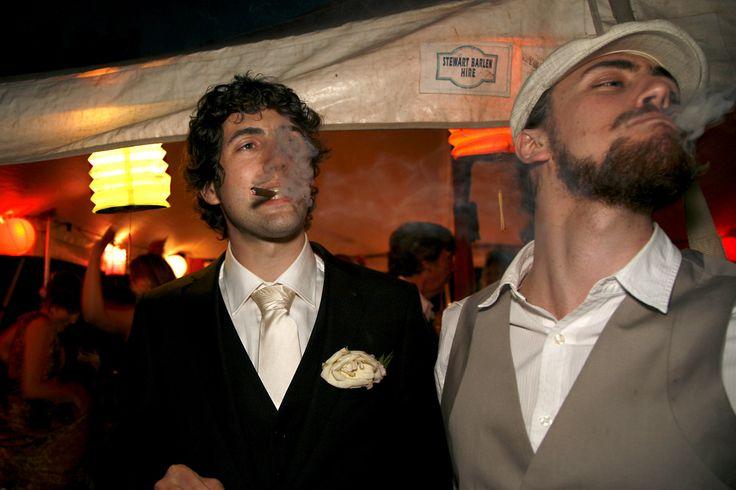 #smoke #cigar #wedding #groom Photography by Hanna Hosking, Hang Studio