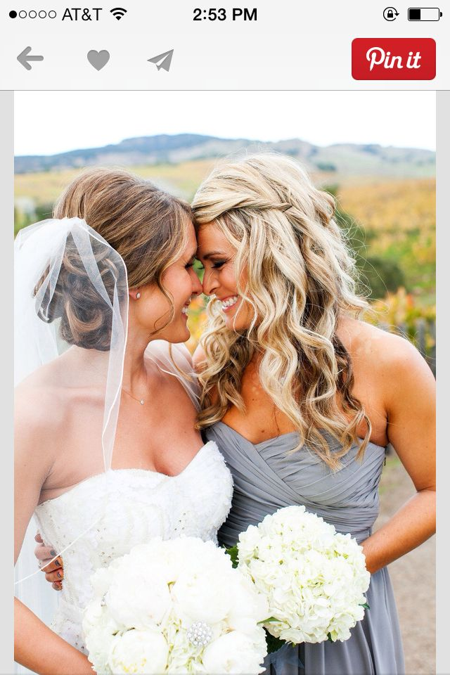 Cannot wait to get a picture like this with my BFF/maid of honor