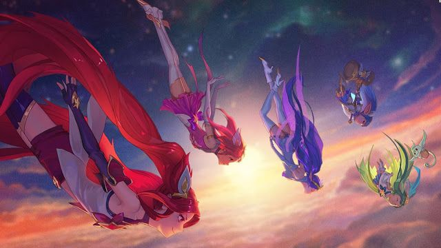 Surrender at 20: The Star Guardians - Upcoming Janna, Jinx, Lulu, & Poppy…
