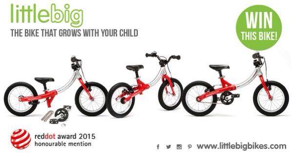 Win this LittleBig bike at www.littlebigbikes.com/win-a-littlebig-bike/