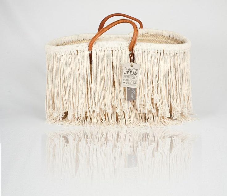 california summer bag#lavidacollage#summer#fashion#capazo#cesto#flecos#boho