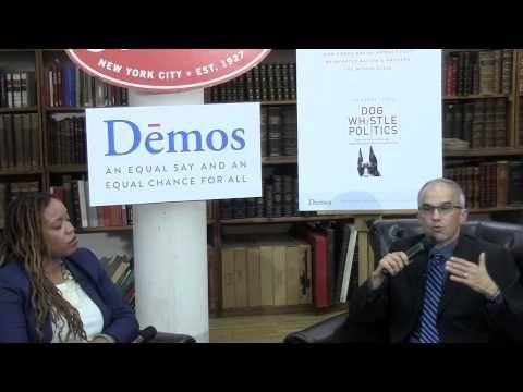 Ian Haney López & Heather McGhee discuss Dog Whistle Politics
