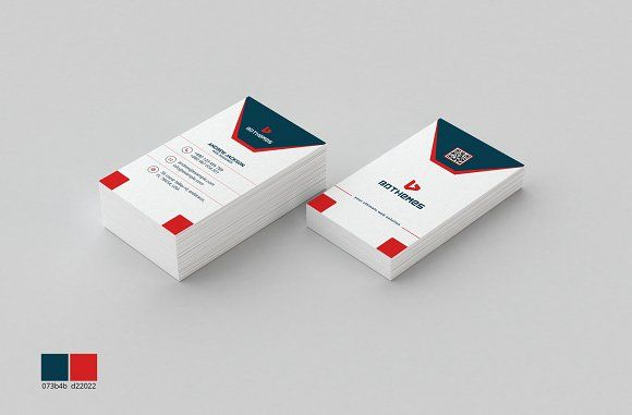 Business Card Template 10 by BdThemes on @creativemarket