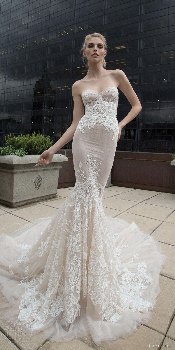 Mermaid Wedding Dress Train : Best nude style ideas on